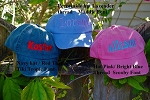 Kids Adams Hats Embroidered